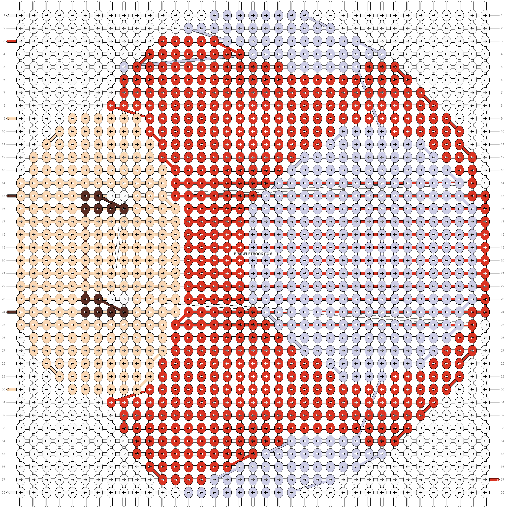 Alpha pattern #3103 pattern