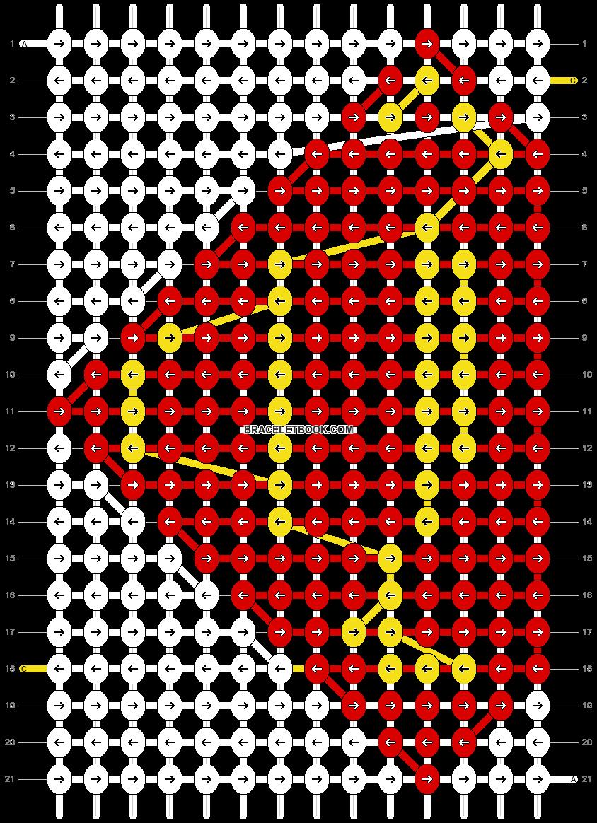 Alpha pattern #3108 pattern