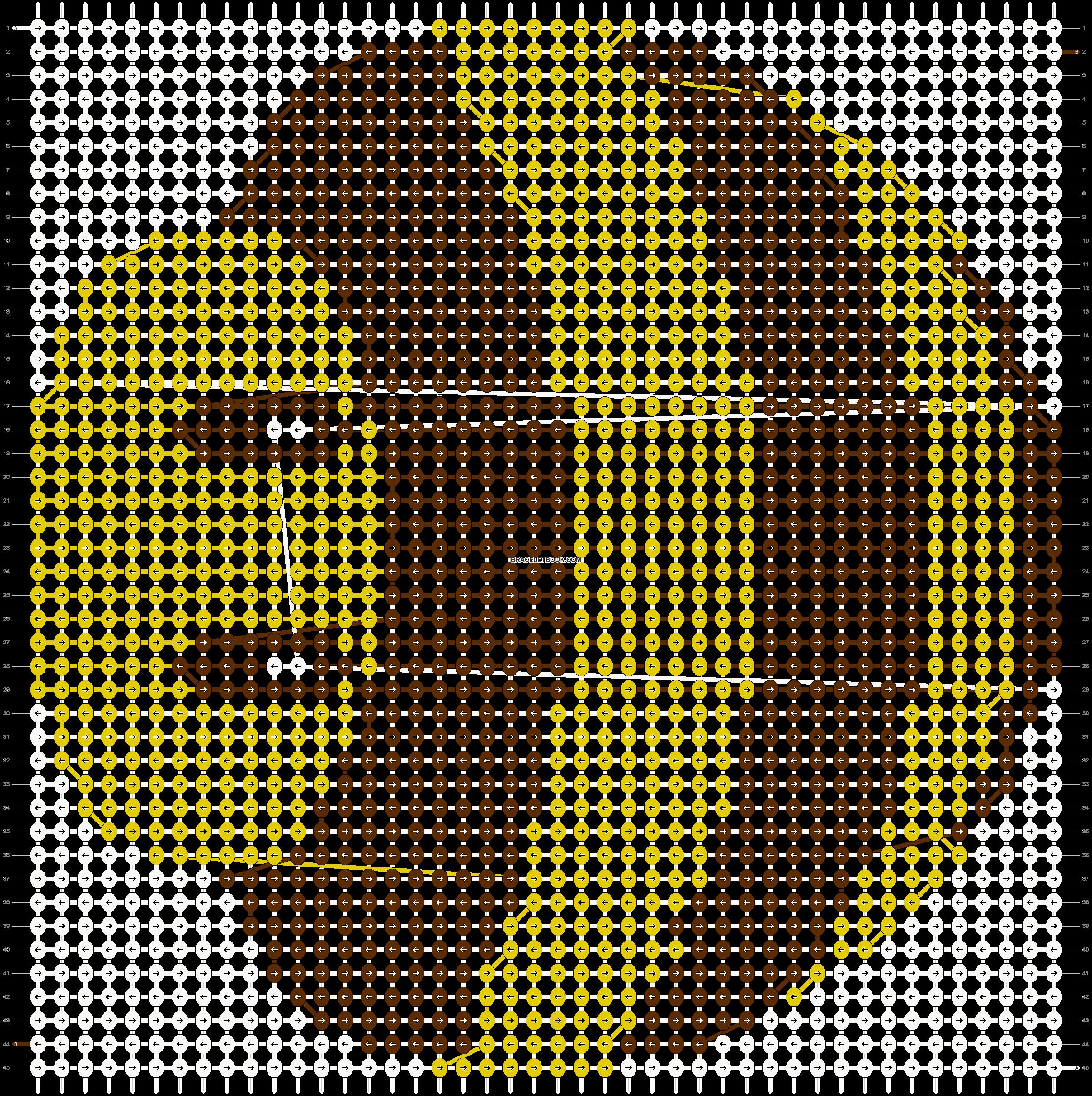 Alpha pattern #3113 pattern
