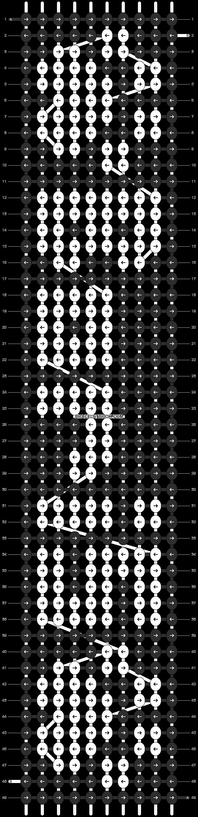 Alpha pattern #3132 pattern