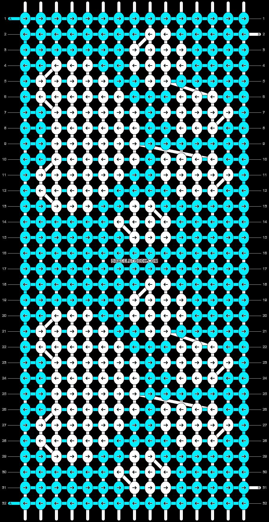 Alpha pattern #3150 pattern