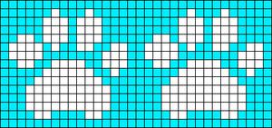 Alpha Friendship Bracelet Pattern #3150