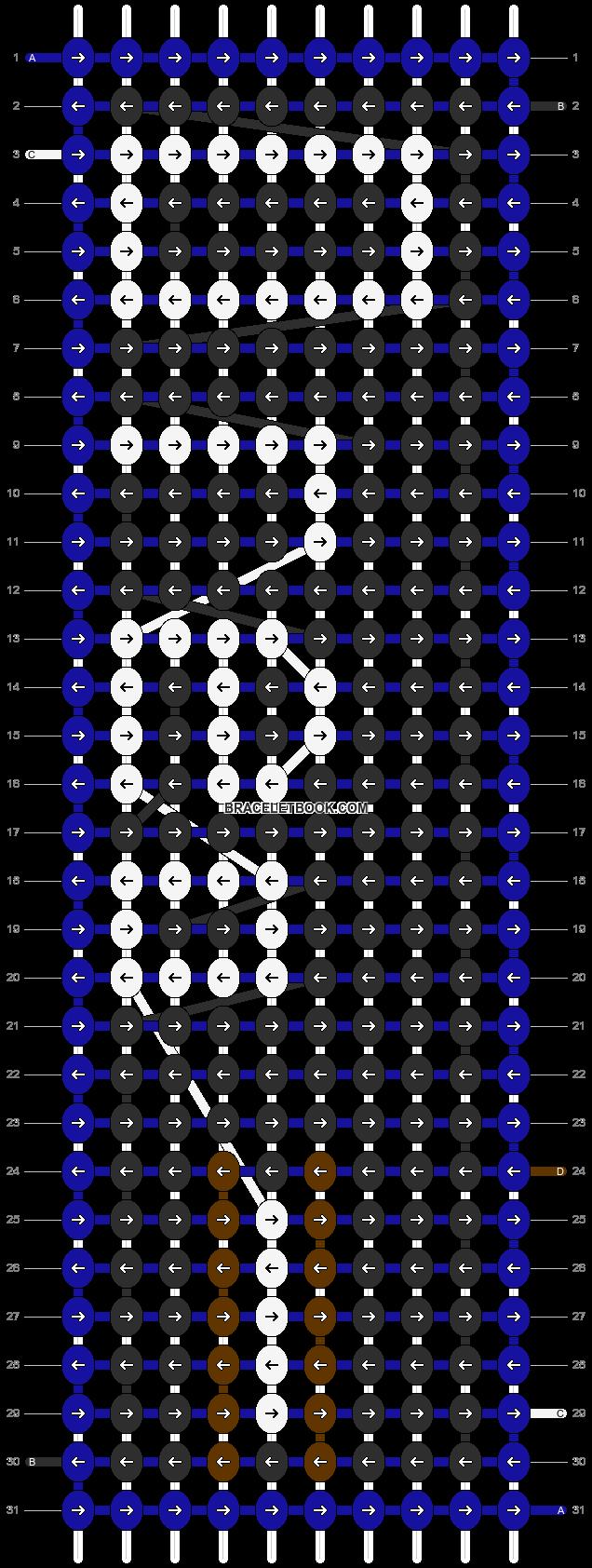 Alpha pattern #3154 pattern