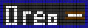 Alpha pattern #3154