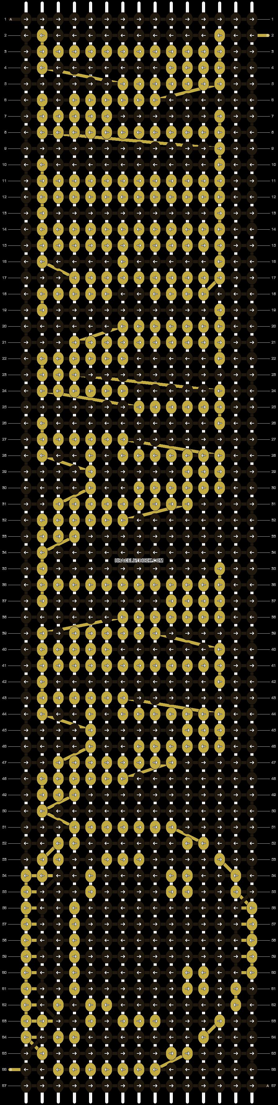 Alpha pattern #3159 pattern