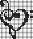 Alpha Friendship Bracelet Pattern #3177
