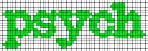 Alpha pattern #3180