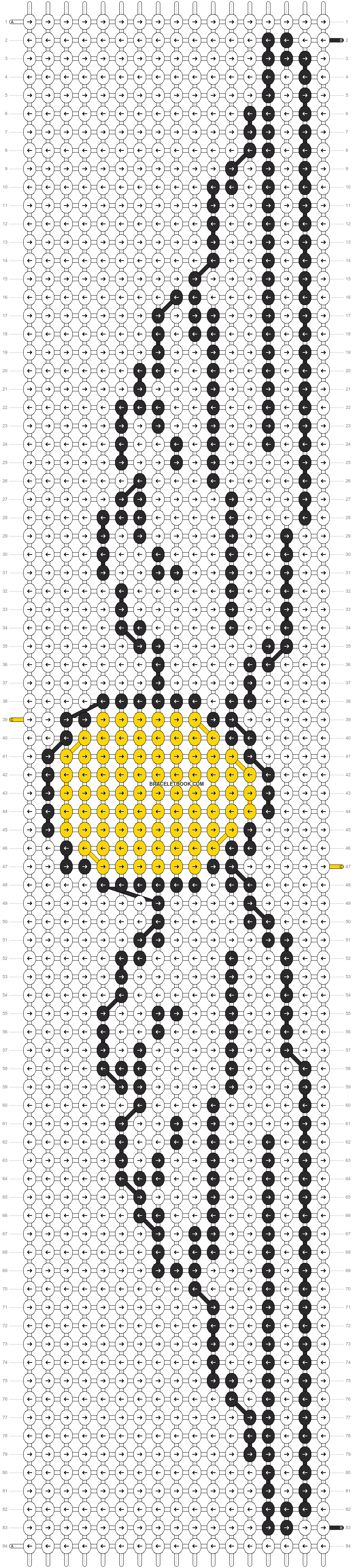 Alpha pattern #3181 pattern