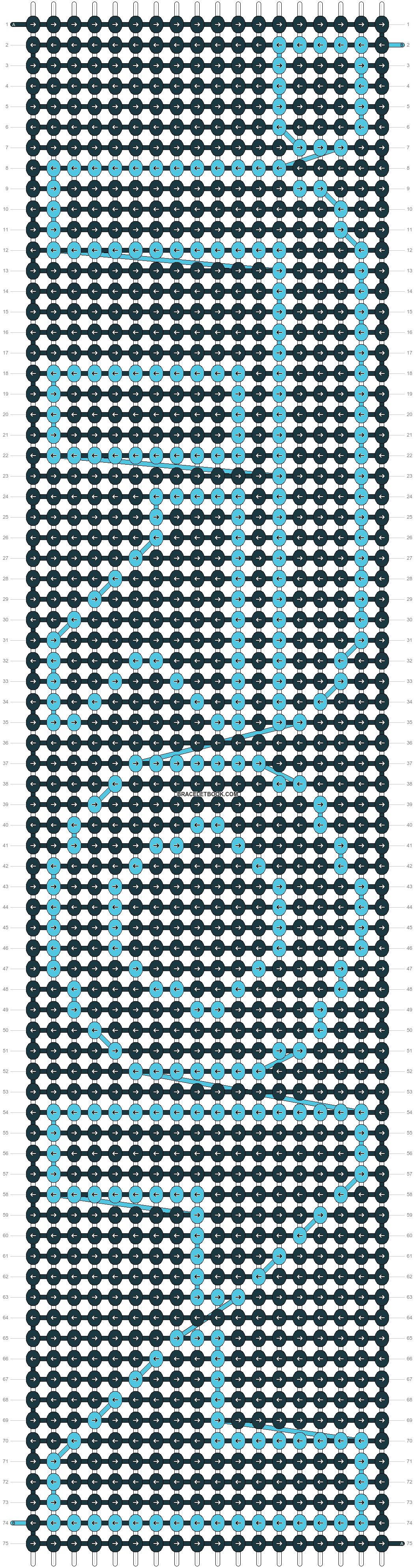 Alpha pattern #3184 pattern