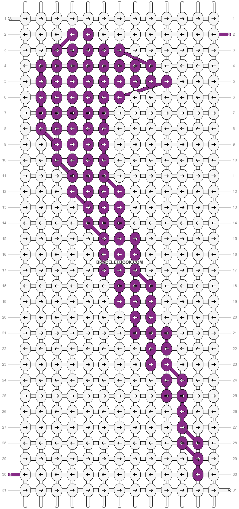Alpha pattern #3191 pattern