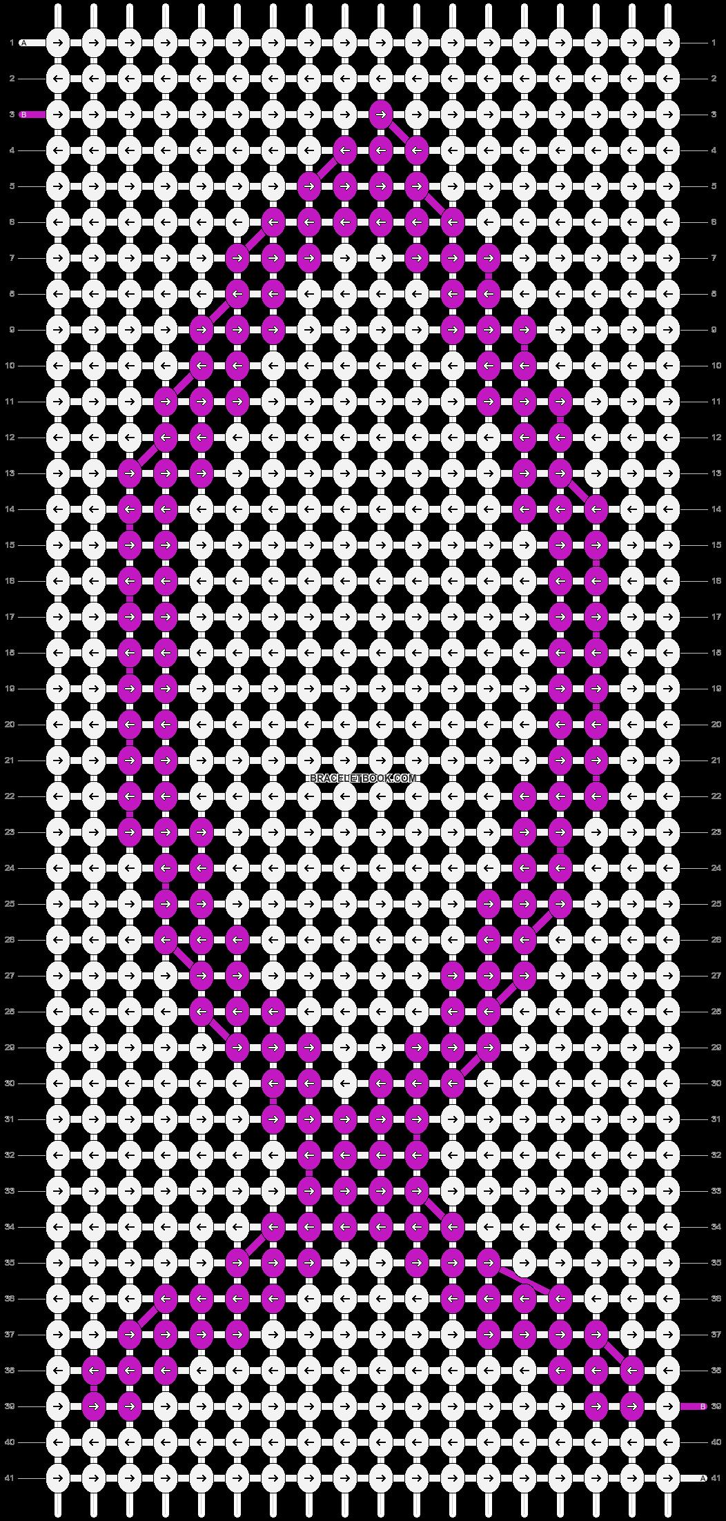 Alpha pattern #3210 pattern