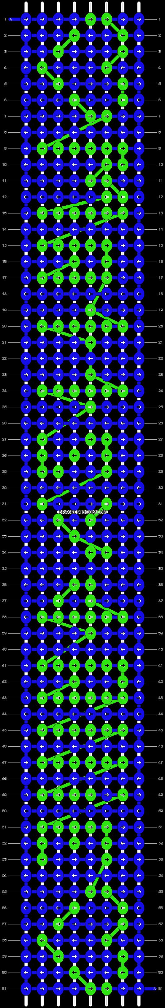 Alpha pattern #3212 pattern