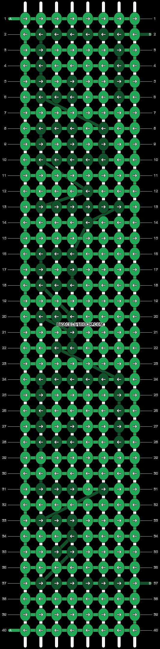 Alpha pattern #3218 pattern