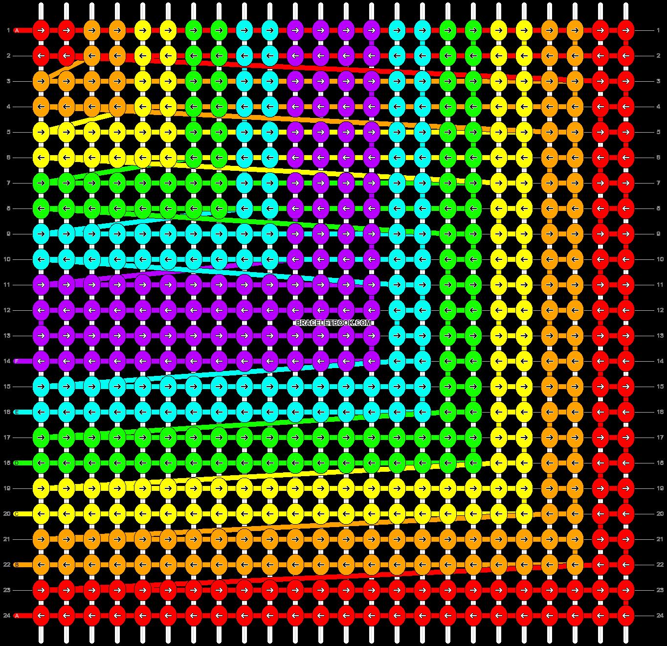 Alpha pattern #3222 pattern