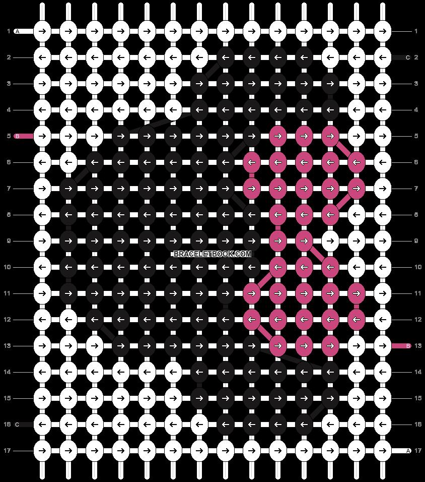 Alpha pattern #3227 pattern