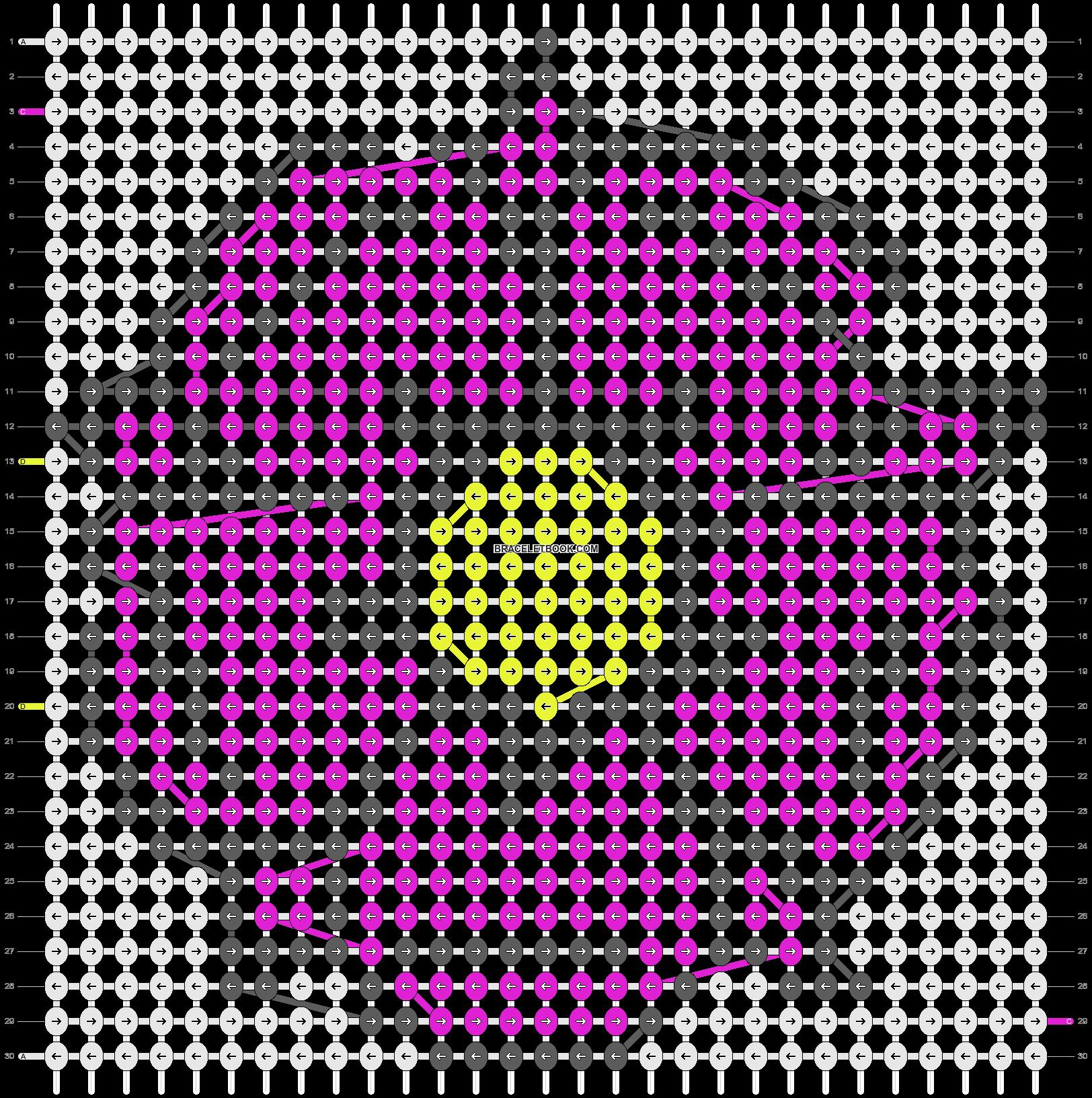 Alpha pattern #3229 pattern