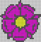 Alpha Friendship Bracelet Pattern #3229