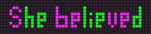 Alpha pattern #3242