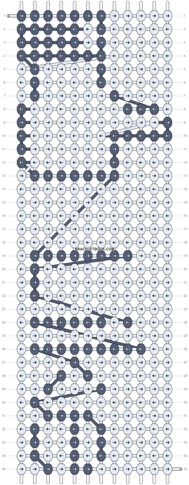 Alpha pattern #3248 pattern