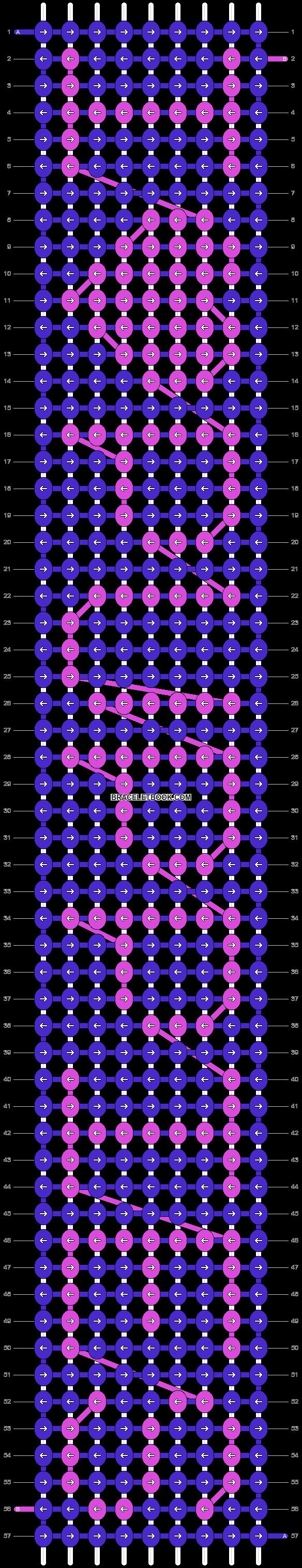 Alpha pattern #3258 pattern