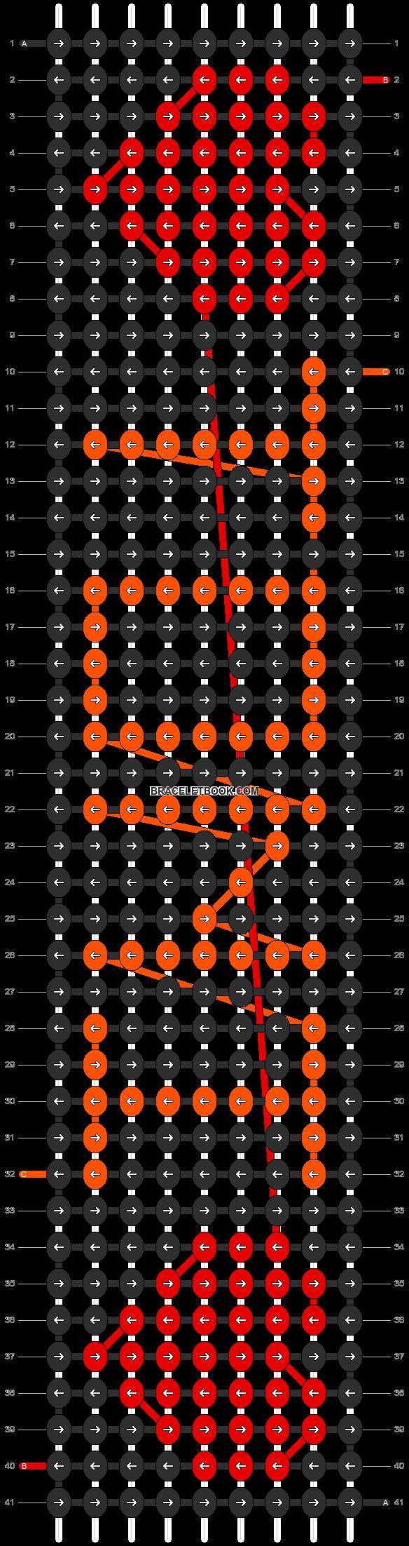 Alpha pattern #3259 pattern