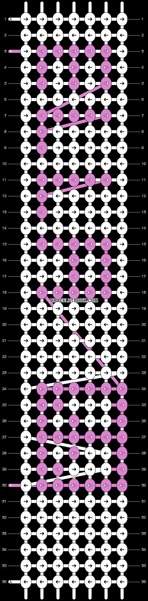 Alpha pattern #3266 pattern