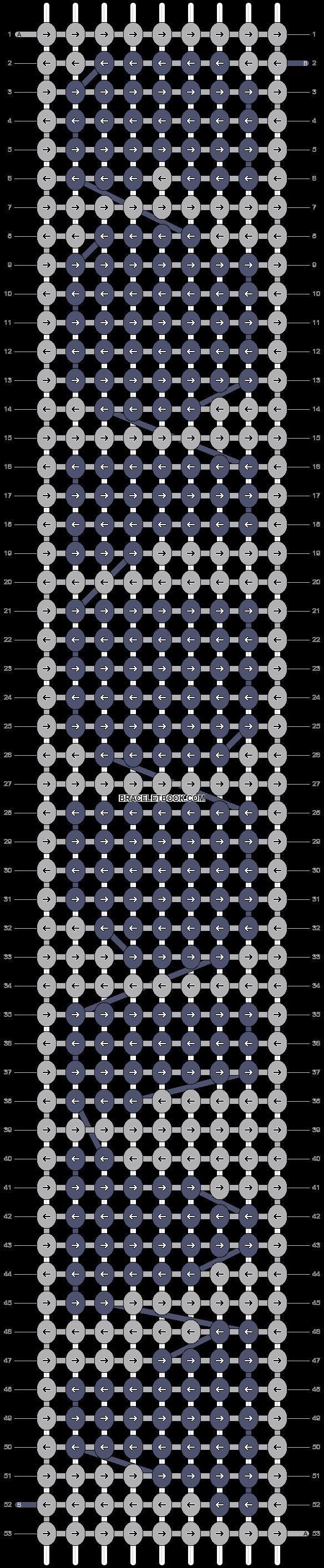 Alpha pattern #3270 pattern