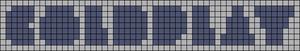 Alpha pattern #3270