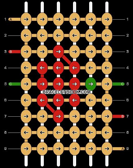 Alpha pattern #3273 pattern