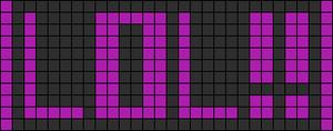 Alpha pattern #3274