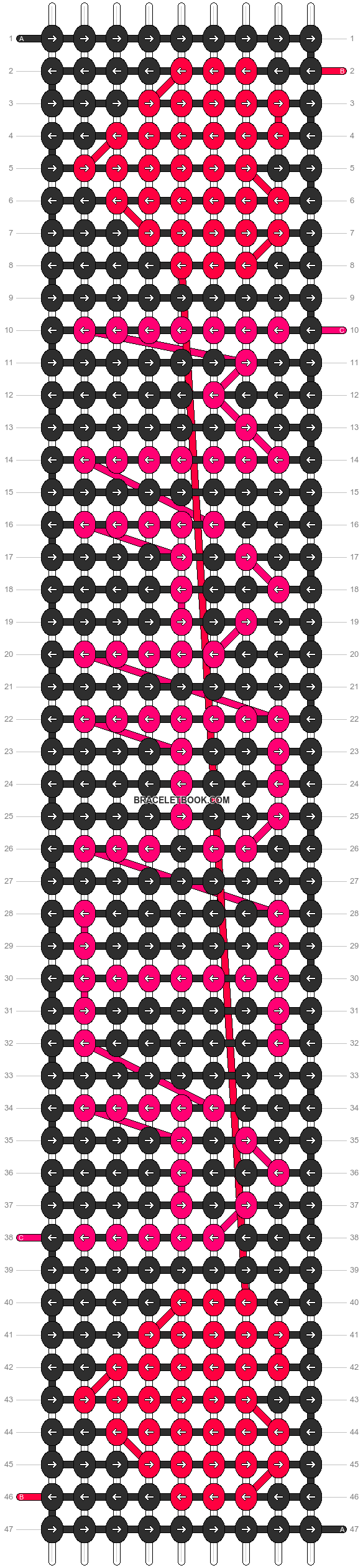 Alpha pattern #3281 pattern