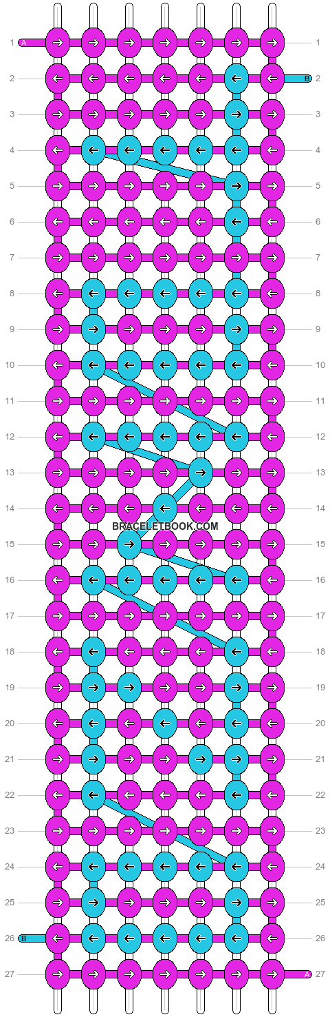 Alpha pattern #3288 pattern