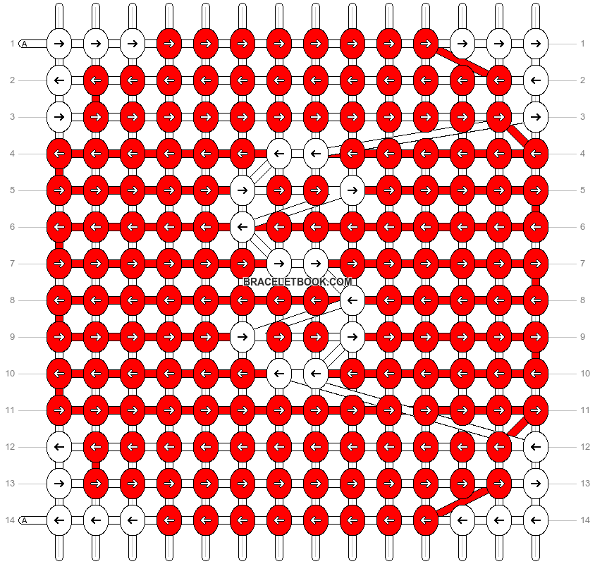 Alpha pattern #3292 pattern