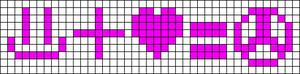 Alpha pattern #3300