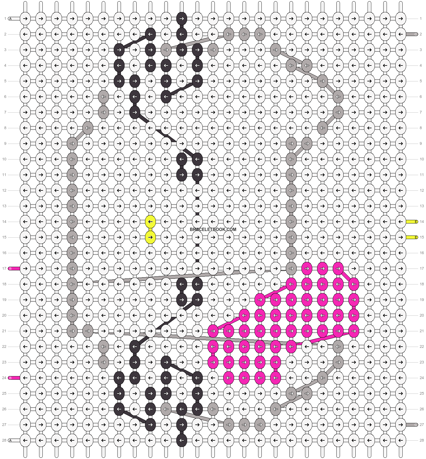 Alpha pattern #3306 pattern