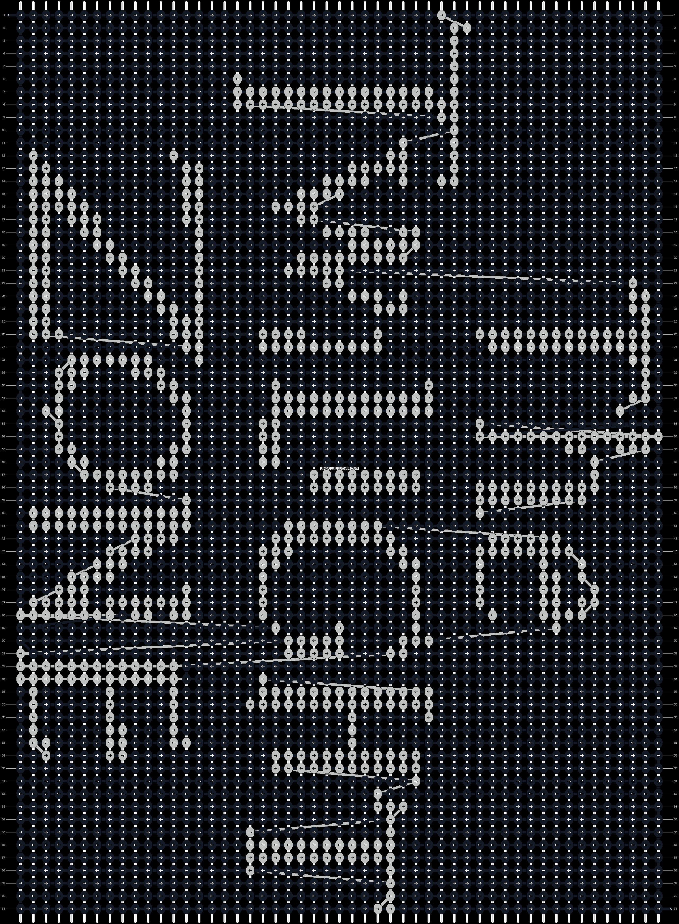 Alpha pattern #3317 pattern