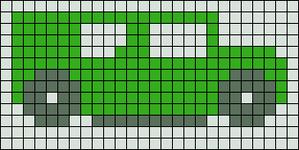 Alpha Friendship Bracelet Pattern #3318