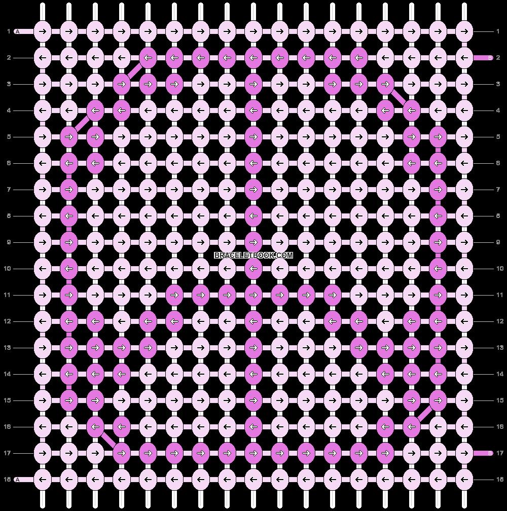 Alpha pattern #3319 pattern