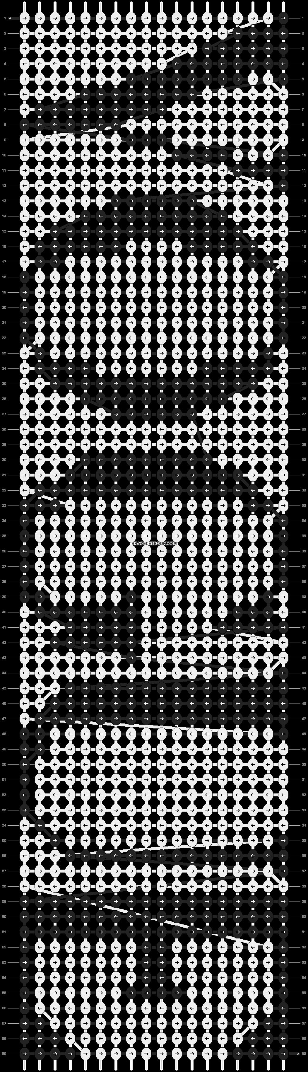 Alpha pattern #3323 pattern