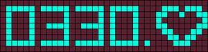 Alpha pattern #3327