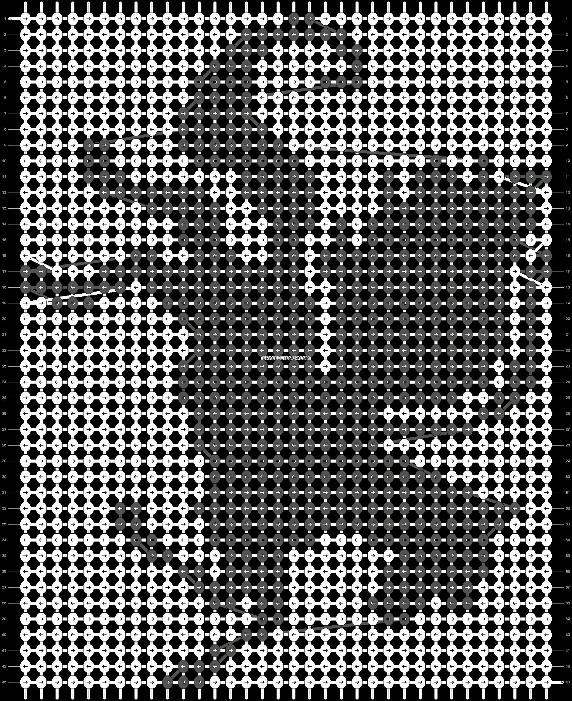 Alpha pattern #3331 pattern