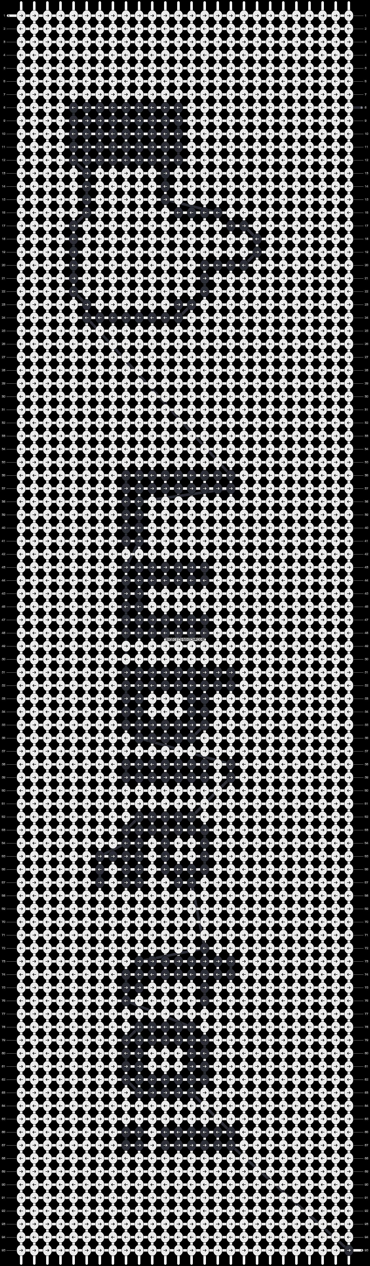 Alpha pattern #3336 pattern