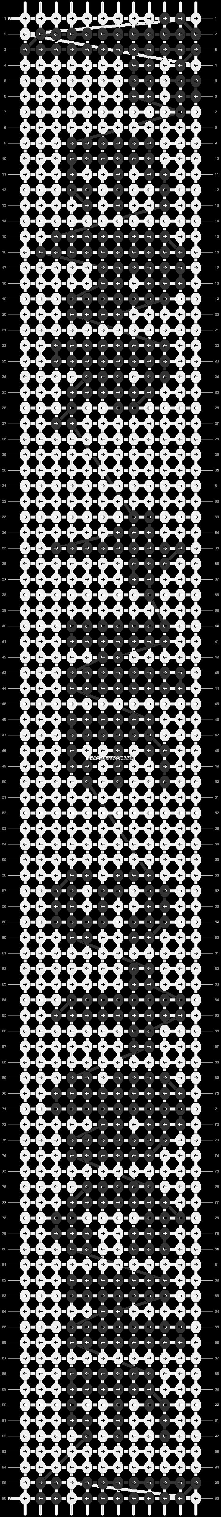 Alpha pattern #3340 pattern