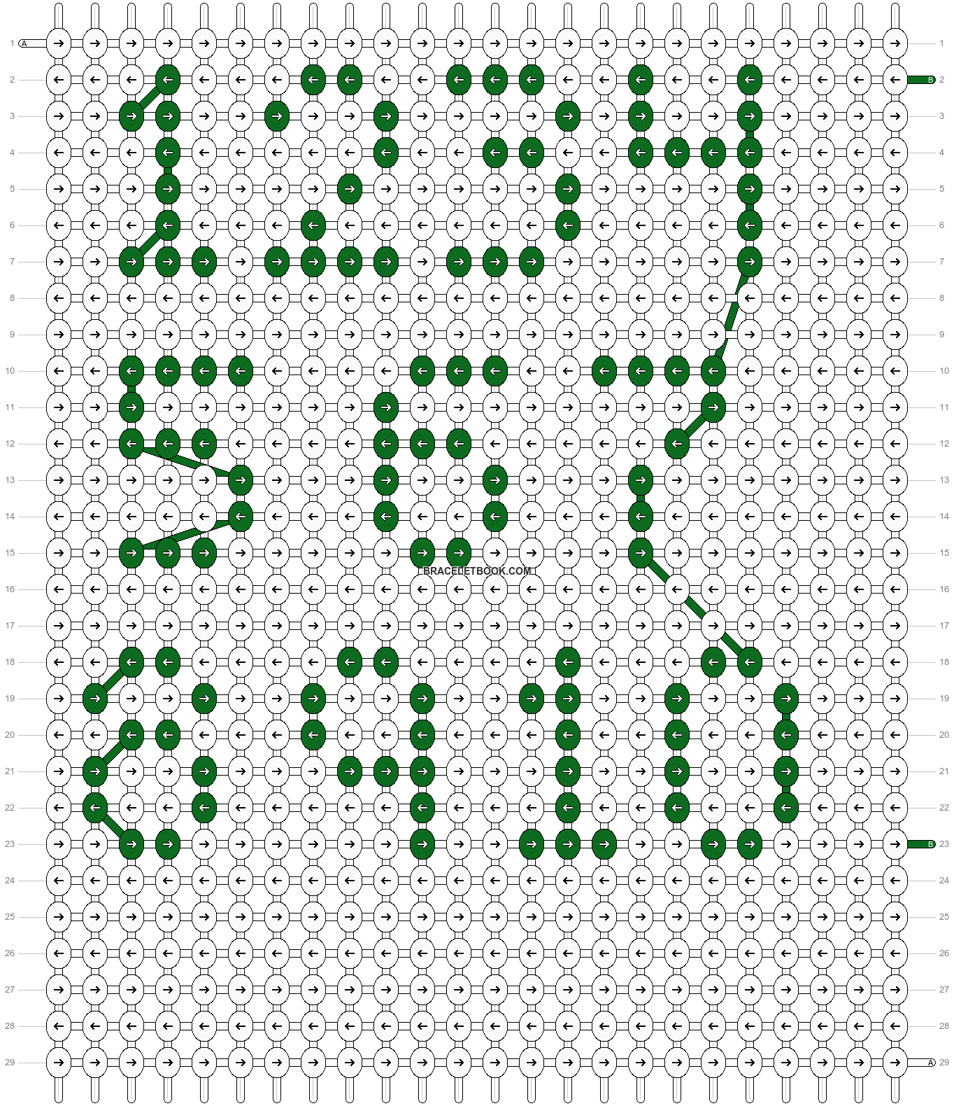 Alpha pattern #3341 pattern