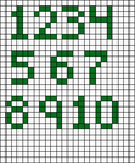 Alpha pattern #3341