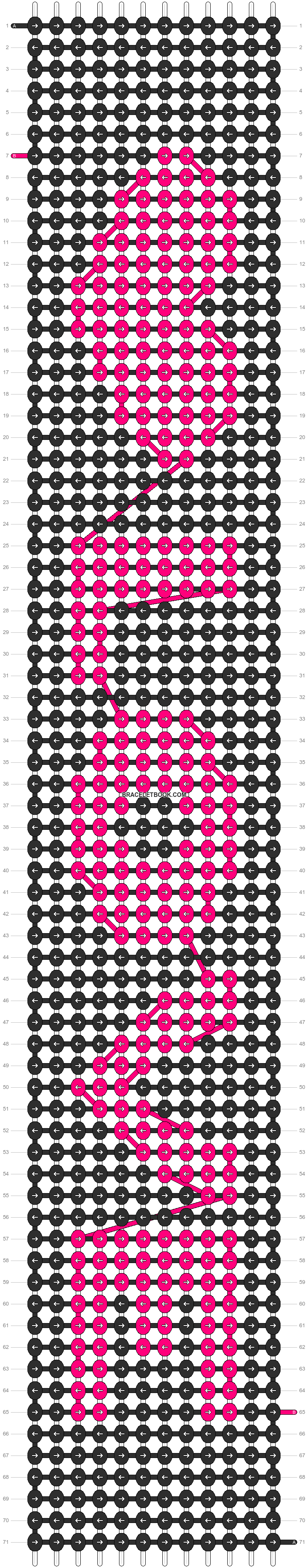 Alpha pattern #3342 pattern