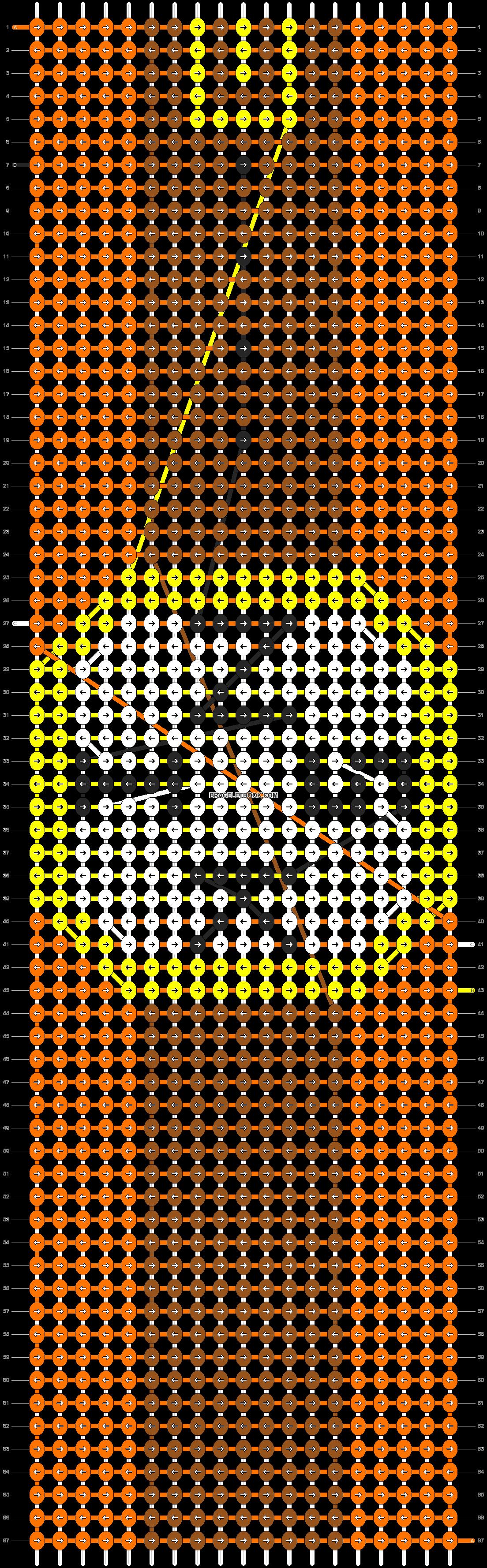 Alpha pattern #3345 pattern