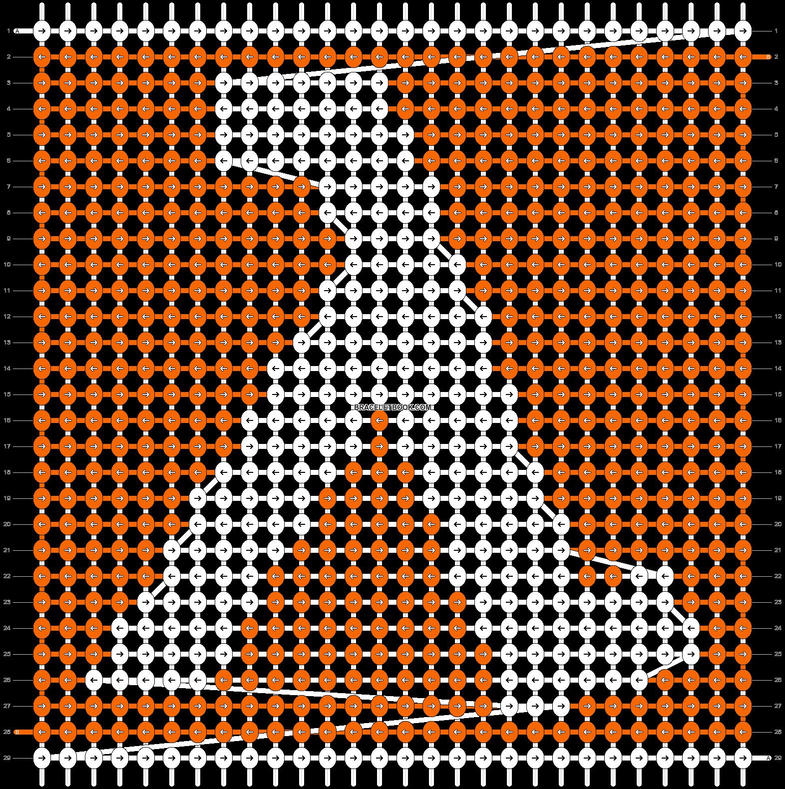 Alpha pattern #3351 pattern
