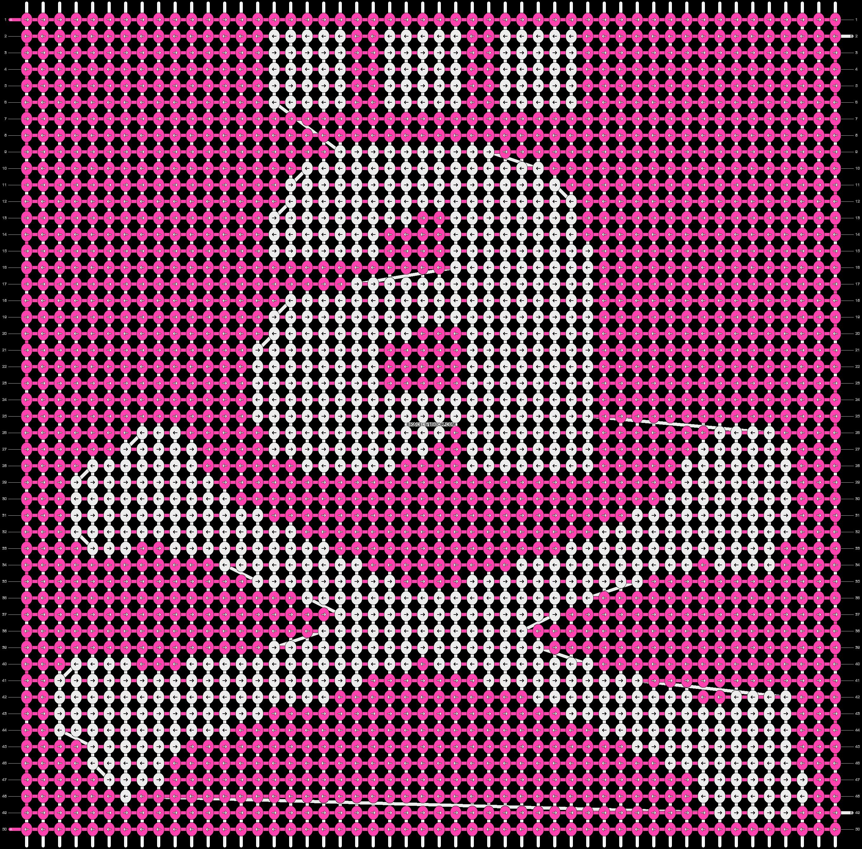 Alpha pattern #3352 pattern