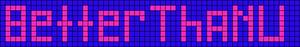 Alpha Friendship Bracelet Pattern #3359